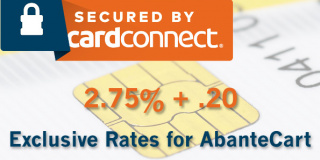 Exclusive Low Credit Card Rates for AbanteCart