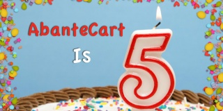 AbanteCart eCommerce Platform is turning 5 years old